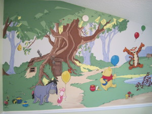 Winnie the Pooh Nursery 1