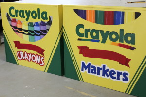custom crayola headboards